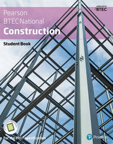 BTEC Nationals Construction Student Book + Activebook: For the 2017 specifications - Simon Topliss - 9781292184043