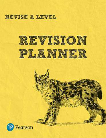 Revise A level Revision Planner - Rob Bircher - 9781292191546