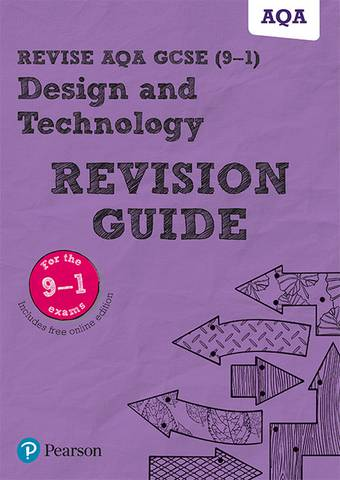 Revise AQA GCSE (9-1) Design and Technology Revision Guide - Mark Wellington - 9781292191584