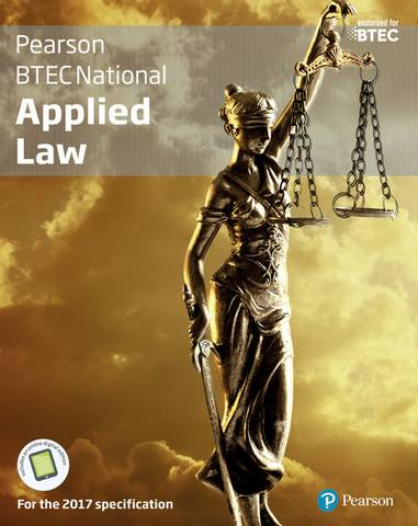 BTEC National Applied Law Student Book + Activebook: For the 2017 specifications - Ann Summerscales - 9781292193533
