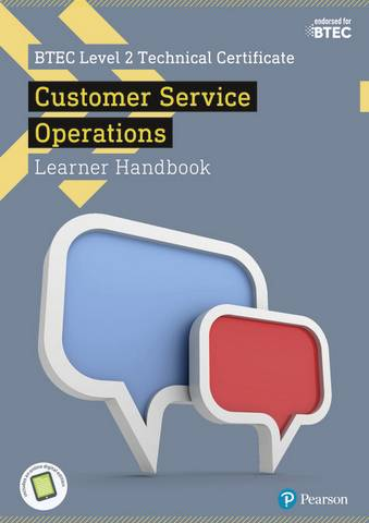BTEC Level 2 Technical Certificate in Business Customer Services Operations Learner Handbook with ActiveBook - Jonathan Pryce - 9781292197401