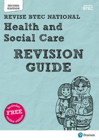 Revise BTEC National Health and Social Care Revision Guide: Second edition - Brenda Baker - 9781292230443