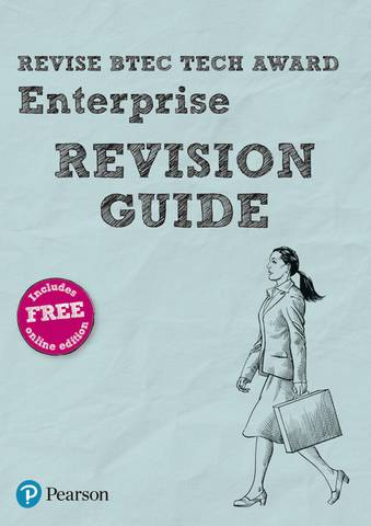 Revise BTEC Tech Award Enterprise Revision Guide: (with free online edition) - Steve Jakubowski - 9781292245607