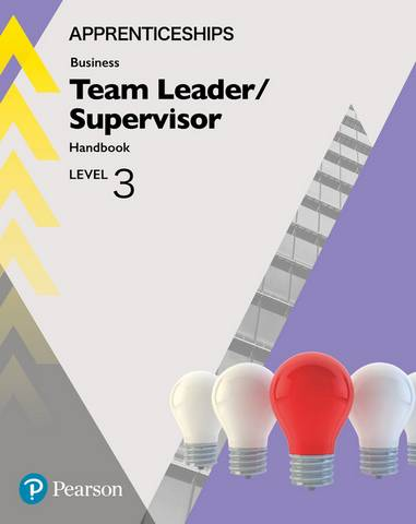 Apprenticeship Team Leader / Supervisor Level 3 Handbook + ActiveBook - Julie Smith - 9781292279916