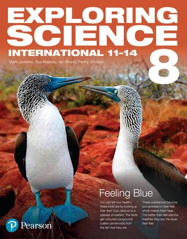 Exploring Science International Year 8 Student Book - Mark Levesley - 9781292294124