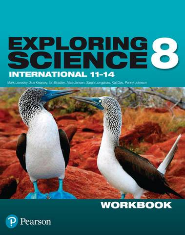 Exploring Science International Year 8 Workbook -  - 9781292294148