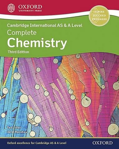 Cambridge International AS & A Level Complete Chemistry - Janet Renshaw - 9781382005319