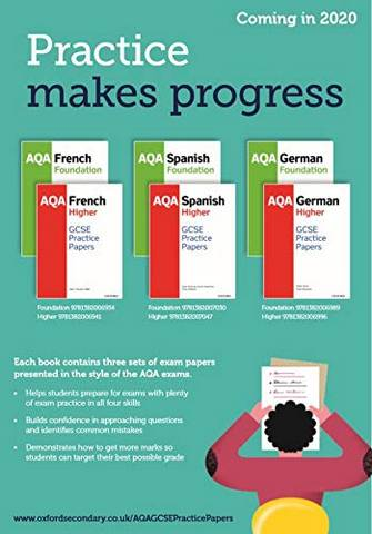 AQA GCSE Spanish Foundation Practice Papers