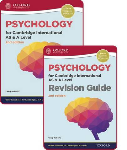 Psychology for Cambridge International AS and A Level: Student Book & Revision Guide Pack - Craig Roberts - 9781382009744