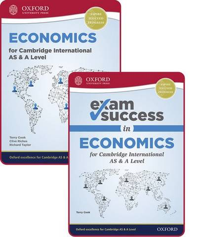 Economics for Cambridge International AS and A Level: Student Book & Exam Success Guide Pack - Terry Cook - 9781382009768