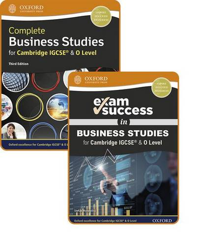 Complete Business Studies for Cambridge IGCSE (R) & O Level: Student Book & Exam Success Guide Pack - Brian Titley - 9781382009812