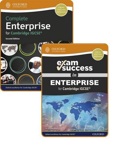 Complete Enterprise for Cambridge IGCSE (R): Student Book & Exam Success Guide Pack - Terry Cook - 9781382009850
