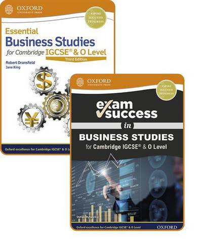 Essential Business Studies for Cambridge IGCSE (R) & O Level: Student Book & Exam Success Guide Pack - Robert Dransfield - 9781382009911