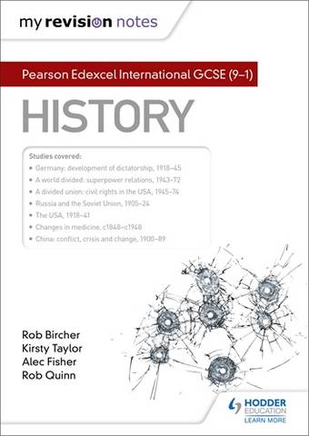 My Revision Notes: Pearson Edexcel International GCSE (9-1) History - Alec Fisher - 9781398300699