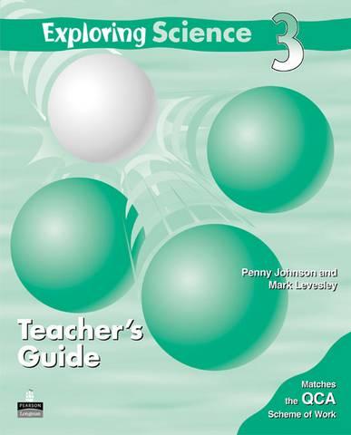Exploring Science Teacher's Guide 3 - Penny Johnson - 9781405808859