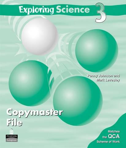 Exploring Science Copymaster File 3 - Penny Johnson - 9781405808910