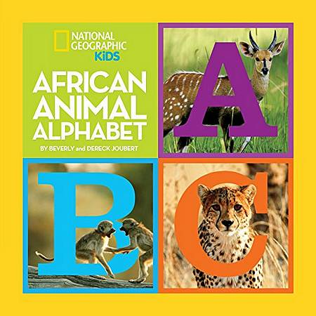 African Animal Alphabet (Early Years) - Beverly Joubert - 9781426307812