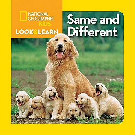 Look and Learn: Same and Different - National Geographic Kids - 9781426309281