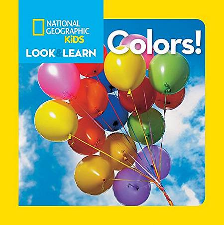 Look and Learn: Colours - National Geographic Kids - 9781426309298