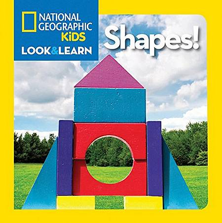 Look and Learn: Shapes - National Geographic Kids - 9781426310423