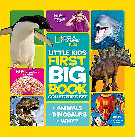 Little Kids First Big Book Collector's Set (First Big Book) - National Geographic Kids - 9781426320101