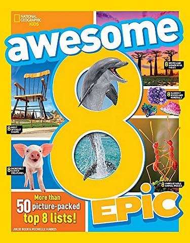 Awesome 8 Epic (Awesome 8) - National Geographic Kids - 9781426330063