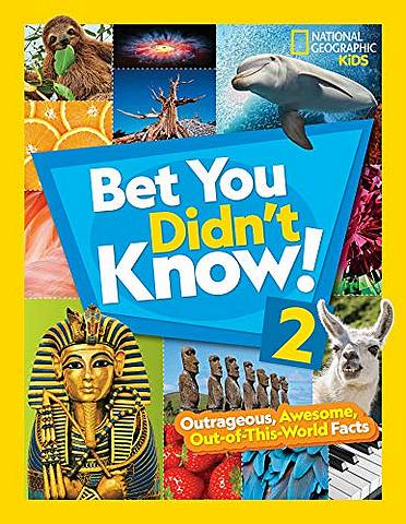 Bet You Didn't Know! 2 (Fun Facts) - National Geographic Kids - 9781426334351