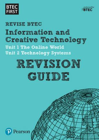 BTEC First in ICT Revision Guide -  - 9781446909799
