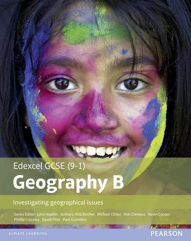 Edexcel GCSE (9-1) Geography specification B: Investigating Geographical Issues - Kevin Cooper - 9781446927762