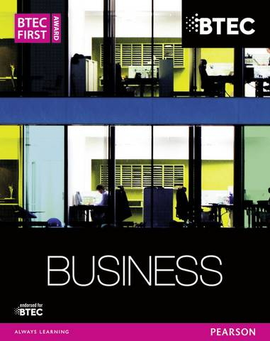 BTEC First Business Award Student Book - Carol Carysforth - 9781447935568