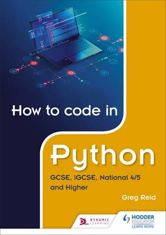 How to code in Python: GCSE