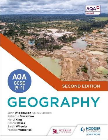 AQA GCSE (9-1) Geography Second Edition - John Widdowson - 9781510477513
