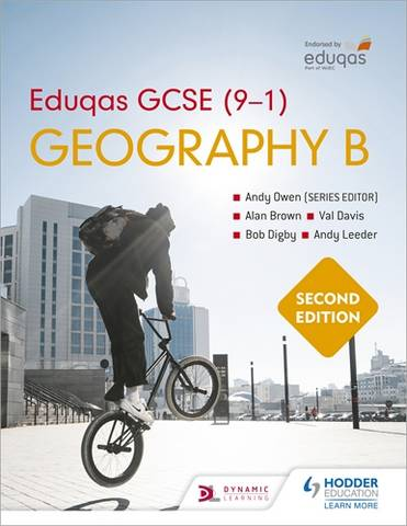 Eduqas GCSE (9-1) Geography B Second Edition - Andy Owen - 9781510477544
