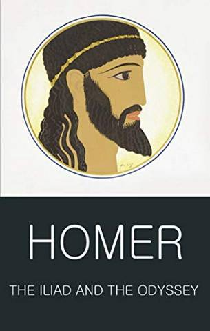 Wordsworth Classics of World Literature: The Iliad and the Odyssey - Homer - 9781840221176