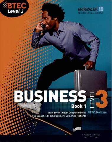 BTEC Level 3 National Business Student Book 1 - Catherine Richards - 9781846906343