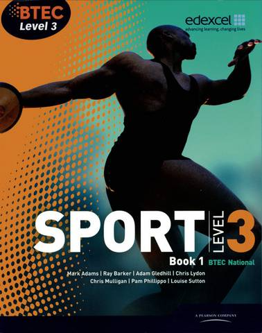 BTEC Level 3 National Sport Book 1 - Ray Barker - 9781846906510