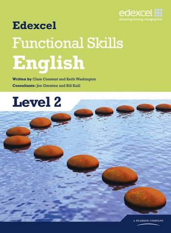 Edexcel Level 2 Functional English Student Book - Clare Constant - 9781846906930