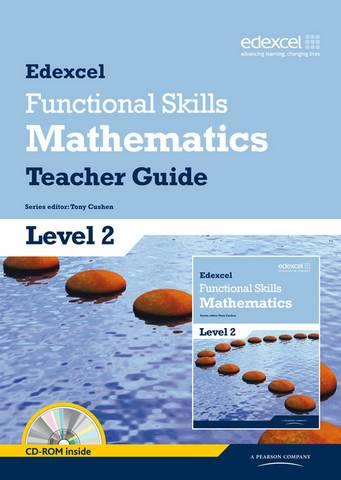 Edexcel Functional Skills Mathematics Level 2 Teacher Guide - Tony Cushen - 9781846907722