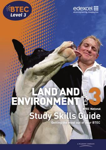 BTEC Level 3 National Land and Environment Study Skills Guide -  - 9781846909276
