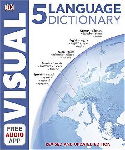 5 Language Visual Dictionary - DK - 9780241413036