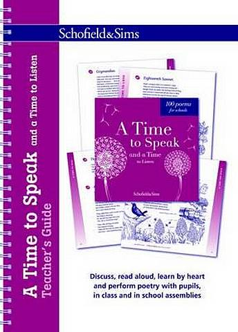 A Time to Speak and a Time to Listen Teacher's Guide - Celia Warren - 9780721712062