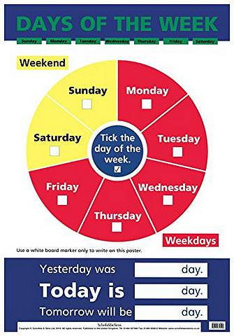 Days of the Week - Schofield & Sims - 9780721755540