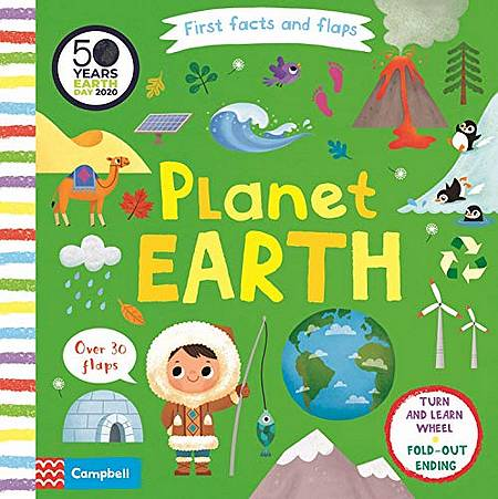 First Facts and Flaps: Planet Earth - Campbell Books - 9781529025231
