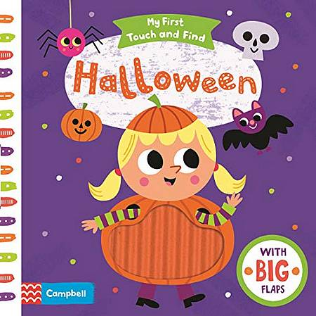 My First Touch and Find: Halloween - Campbell Books - 9781529025347