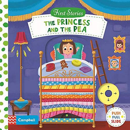 First Stories: The Princess and the Pea - Campbell Books - 9781529025514