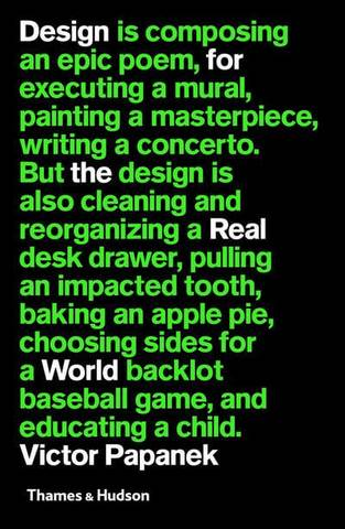 Design for the Real World - Victor Papanek - 9780500295335