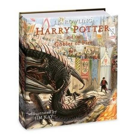 Harry Potter and the Goblet of Fire: Illustrated Edition - J.K. Rowling - 9781408845677