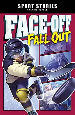 Sport Stories Graphic Novels: Faceoff Fall Out - Jake Maddox - 9781474784160