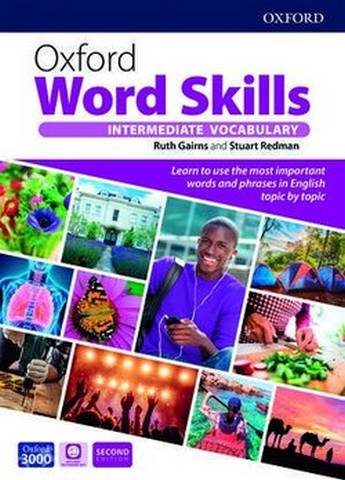 Oxford Word Skills (2nd Edition) Intermediate Vocabulary with App Access -  - 9780194605700