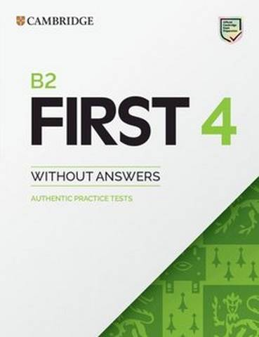 Cambridge B2 First (FCE) 4 Student's Book without Answers -  - 9781108748100